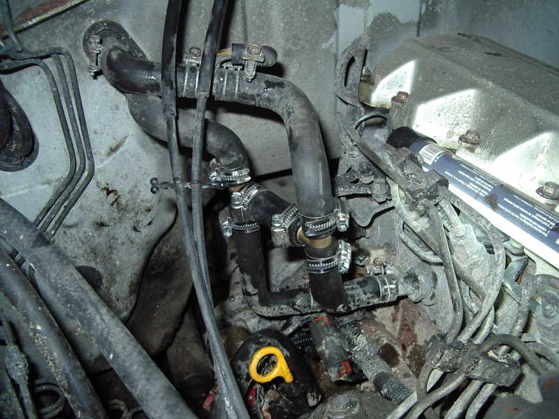 Reportage modification circuit de refroidissement rd 28 t for Purge de radiateur de chauffage