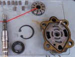 Révision de la pompe de direction assistée (sauf Y61 3.0 L)