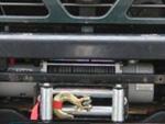 Treuil intégré dans un pare-choc de Y61