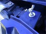 Modification des fixations de la calandre