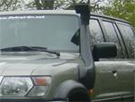 Installer un snorkel Safari sur Patrol Y61
