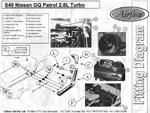 Plan et gabarit d'un snorkel Airflow