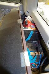 compresseur la cuve se trouve sous le chassis